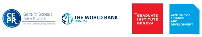 CEPR, World Bank and CFD logos