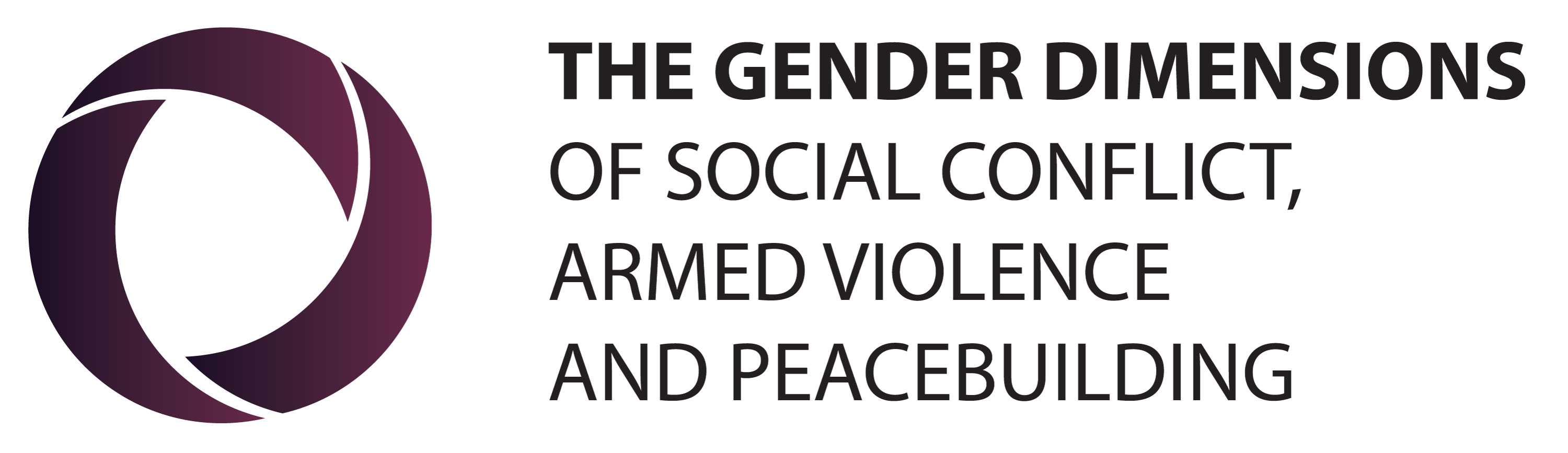 The Gender Dimensions of Social Conflicts, Armed Violence and Peacebuilding