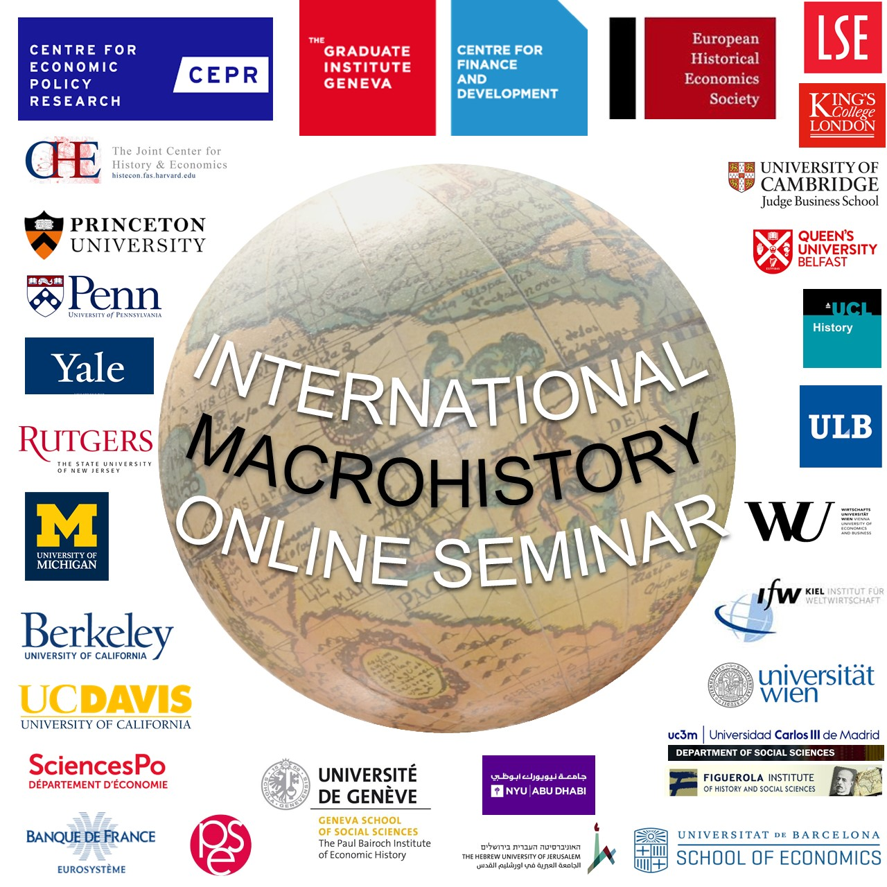 Logo of the International Macro History Online Seminar