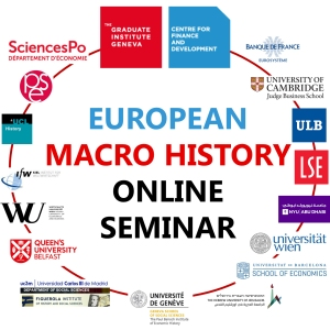 Logo of the European Macro History Online Seminar