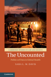 book cover, the uncounted