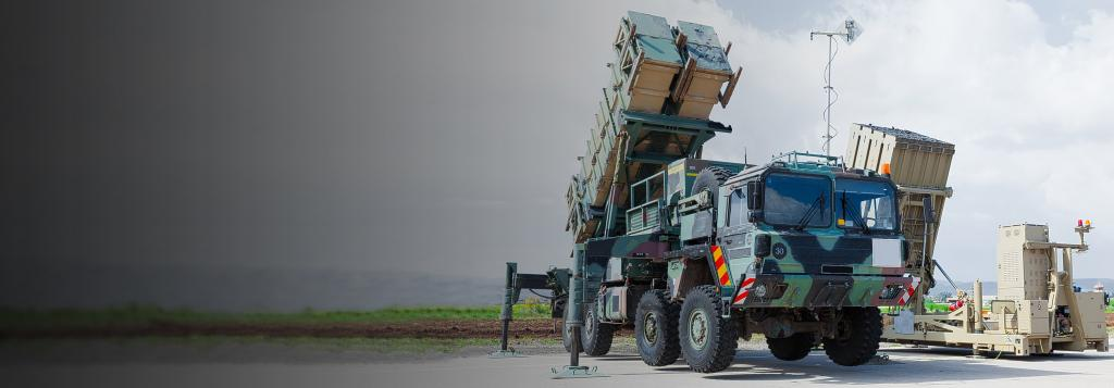 Iron dome defense system