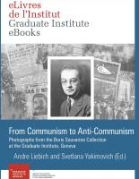 eLivre From Communism to Anti-Communism